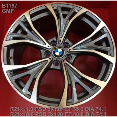 Диски Replica BMW (B1197) 11x21 5x120 ET35 DIA74,1 (GMF)