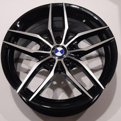 Диски Replay BMW (B213) 7,5x17 5x120 ET37 DIA72,6 (BKF)