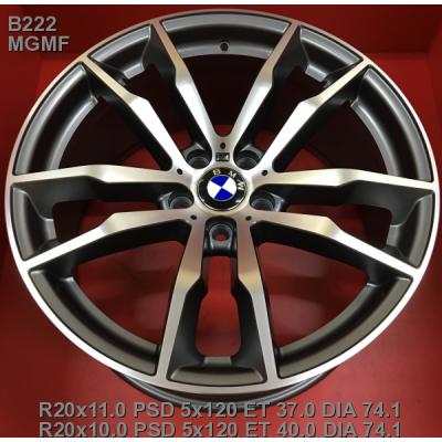Диски Replay BMW (B222) 11x20 5x120 ET37 DIA74,1 (MGMF)
