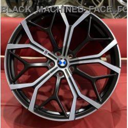BMW (B2240) satin black machined face