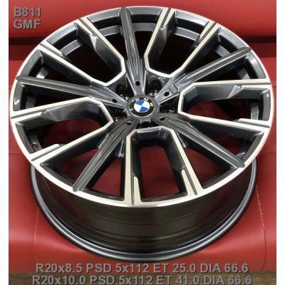 Диски Replica BMW (B811) 8,5x20 5x112 ET25 DIA66,6 (GMF)