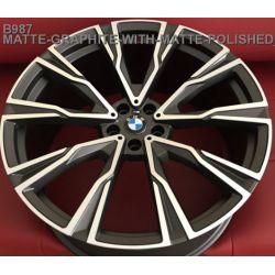 BMW (B987) matt graphite matt polished