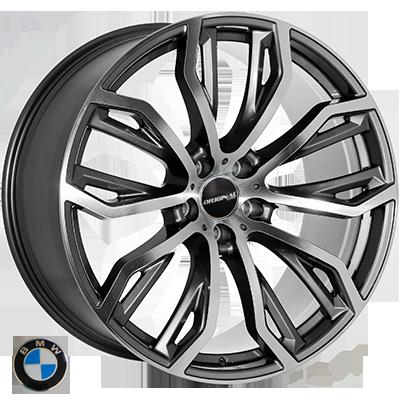 Диски Replica BMW (JH1166) 10x20 5x120 ET40 DIA74,1 (DGMF)