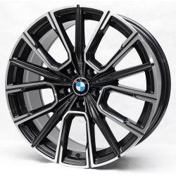 BMW (R5047) dark gun metal machined face