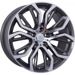 WSP Italy BMW (W676) Everest 10x20 5x120 ET40 DIA72,6 (anthracite polished)