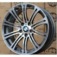 WSP Italy BMW W670 M3 LuXor ANTHRACITE POLISHED R17 W8 PCD5x120 ET47 DIA72,6