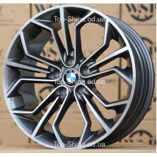 WSP Italy BMW W671 VENUS ANTHRACITE POLISHED R19 W8 PCD5x120 ET30 DIA72,6