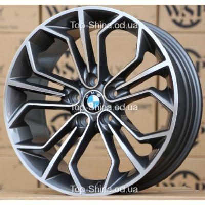 Диски WSP Italy BMW W671 VENUS ANTHRACITE POLISHED R18 W8 PCD5x120 ET30 DIA72,6