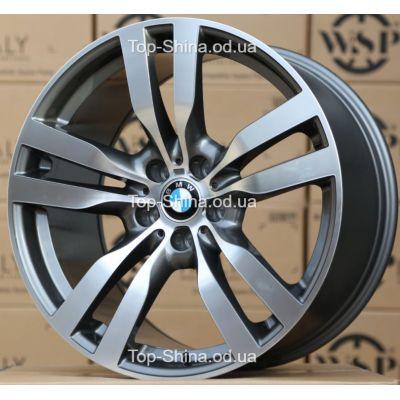 Диски WSP Italy BMW W672 PANDORA X6 ANTHRACITE POLISHED R20 W11 PCD5x120 ET37 DIA74,1