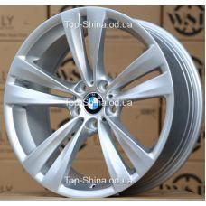WSP Italy BMW W673 NEPTUNE GT SILVER R18 W8 PCD5x120 ET20 DIA72,6
