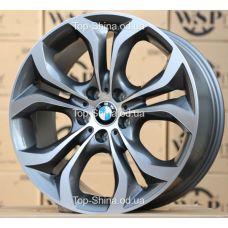 WSP Italy BMW W674 AURA ANTHRACITE POLISHED R20 W10 PCD5x120 ET40 DIA74,1