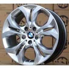 WSP Italy BMW W674 AURA HYPER SILVER R19 W10 PCD5x120 ET45 DIA74,1