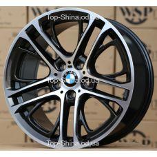 WSP Italy BMW W677 X3 XENIA DIAMOND BLACK POLISHED R19 W9,5 PCD5x120 ET39 DIA72,6