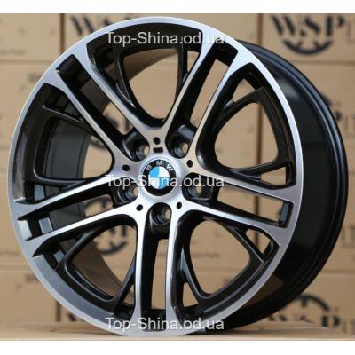 Диски WSP Italy BMW W677 X3 XENIA DIAMOND BLACK POLISHED R19 W9 PCD5x120 ET44 DIA72,6
