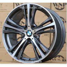 WSP Italy BMW W682 ILIO ANTHRACITE POLISHED R19 W8 PCD5x120 ET37 DIA72,6