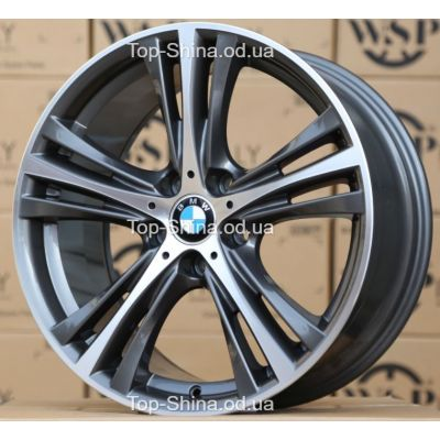 Диски WSP Italy BMW W682 ILIO ANTHRACITE POLISHED R19 W8 PCD5x120 ET36 DIA72,6