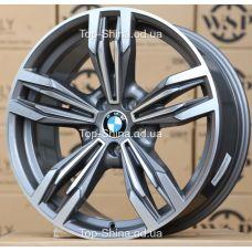 WSP Italy BMW W683 ITHACA ANTHRACITE POLISHED R20 W9 PCD5x120 ET44 DIA72,6