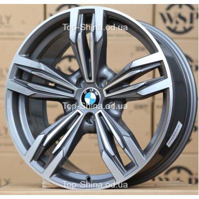 Диски WSP Italy BMW W683 ITHACA ANTHRACITE POLISHED R20 W9 PCD5x120 ET44 DIA74,1