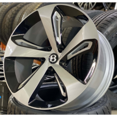 Диски Replica Bentley (BN562) 10x22 5x130 ET28 DIA71,3 (BKF)