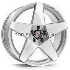 Borbet A 8x18 5x114,3 ET45 DIA72,6 (brilliant silver)