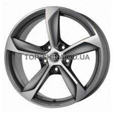 Borbet S 10x22 5x130 ET55 DIA71,6 (graphite matt polished)