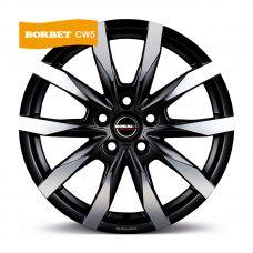 Borbet CW5 7,5x18 5x120 ET43 DIA65,1 (matt black polished)