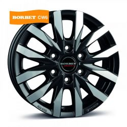 CW6 matt black polished