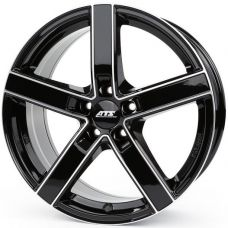 ATS Emotion 8x18 5x120 ET30 DIA72,6 (diamond black contour polished)