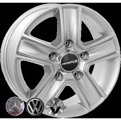 Диски Replica Ford (BK473) 6,5x15 5x160 ET60 DIA65,1 (silver)