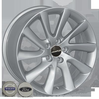 Диски Replica Volvo (TL0281NW) 8x17 5x108 ET55 DIA63,4 (silver)