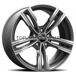 Reven anthracite polished
