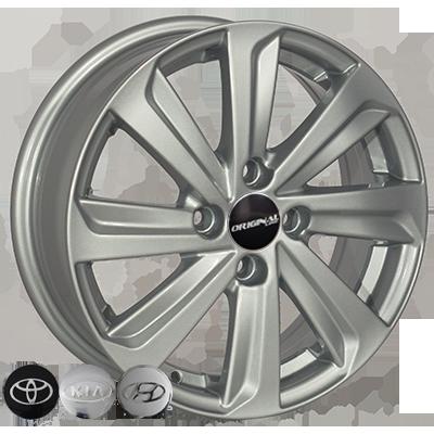 Диски Replica Toyota (BK736) 5,5x15 4x100 ET45 DIA54,1 (silver)
