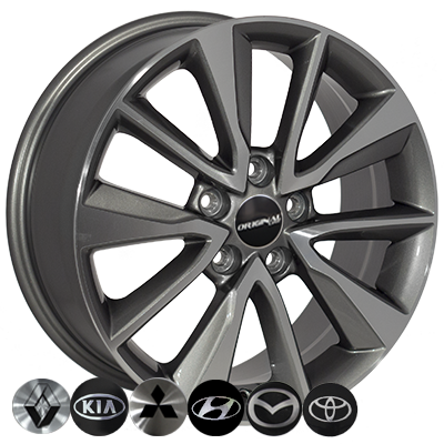 Диски Replica Mazda (TL0283NW) 7x17 5x114,3 ET52 DIA67,1 (GMF)