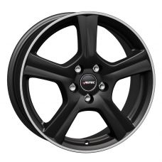 Autec Ionik 6,5x16 5x108 ET50 DIA63,4 (matt black polished)