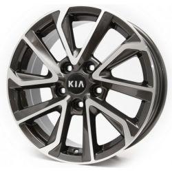 Kia (RB34) dark gun metal machined face