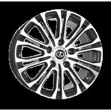 Replica Lexus (LX1800) 8,5x21 5x150 ET45 DIA110,1 (BKF)