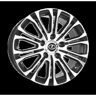 Диски Replica Lexus (LX1800) 8,5x21 5x150 ET45 DIA110,1 (BKF)