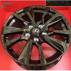 Replica Lexus (LX4001) 8,5x21 5x150 ET54 DIA110,1 (BK)