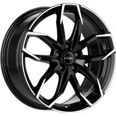 Rial Lucca 7,5x17 5x108 ET52,5 DIA63,4 (diamond black front polished)