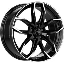 Lucca diamond black front polished