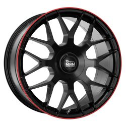 MAM GT.1 Black Painted Lip Red (BPLR)