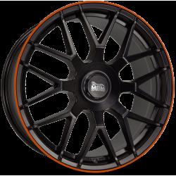 MAM GT.1 Matt Black Lip Orange (MBLO)