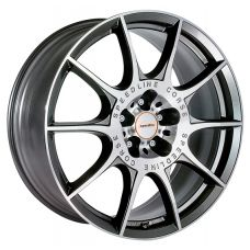 Speedline Marmora 8,5x20 5x108 ET40 DIA76 (anthracite front diamond cut)