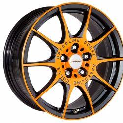 Marmora orange racing matt black