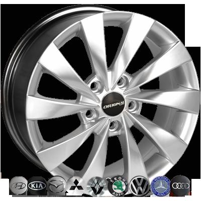 Диски Replica Mazda (BK438) 7x16 5x114,3 ET45 DIA67,1 (HS)
