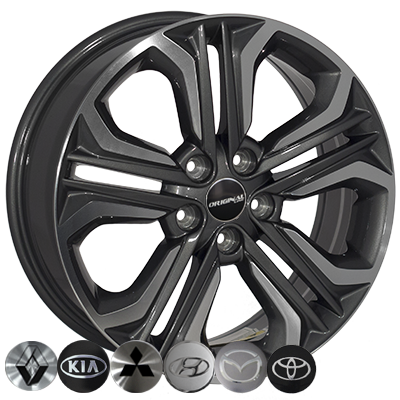 Диски Replica Mazda (TL0418NW) 7x18 5x114,3 ET51 DIA67,1 (GMF)