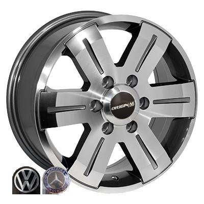 Диски Replica Volkswagen (BK562) 7x16 6x130 ET60 DIA84,1 (GP)