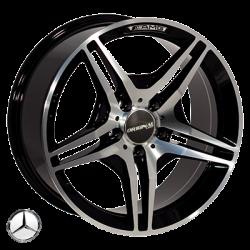 Mercedes (D5009) black