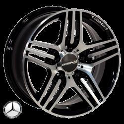 Mercedes (D5012) black