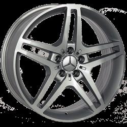 Mercedes (FR928) silver